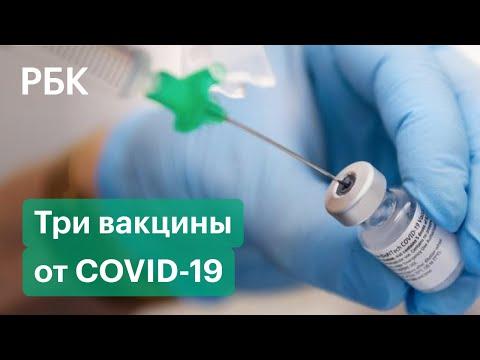 «Спутник V», «ЭпиВакКорона» и «КовиВак». Вакцины от коронавируса. Эффективность и противопоказания