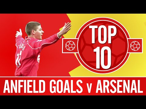 Top 10: Liverpool's best Anfield goals against Arsenal | Firmino, Gerrard, Mellor