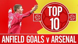 Top 10: Liverpool's best Anfield goals against Arsenal   Firmino, Gerrard, Mellor