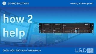 D400-1018 l D400 Konfiguration How2 Erstellen Sie einen server mit der map-Datei, um bedient zu werden, um ein master-Gerät