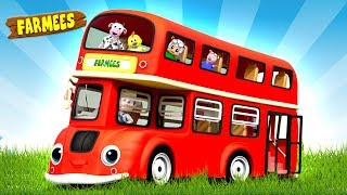 Let's Ride on a School Bus Song + More Nursery Rhymes & Songs for Babies by Farmees