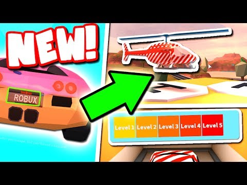 JAILBREAKS BIG UPDATE IS HERE (HELICOPTER SKINS, VEHICLE TUNING, LICENSE PLATES)