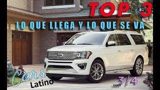 Lo Que Llega y Lo Que Se Va (Top 3 de 4) (Serie Especial) *CarsLatino*