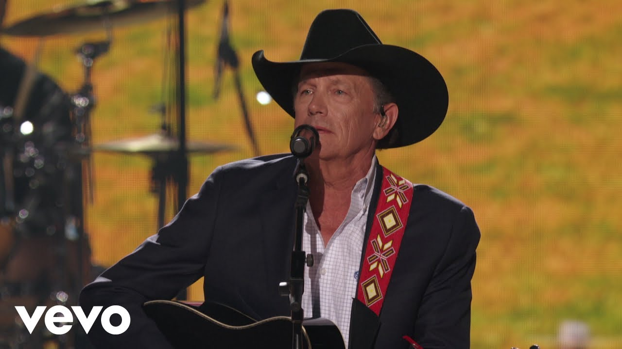 George Strait - God And Country Music (Live From The 54th ACM Awards)
