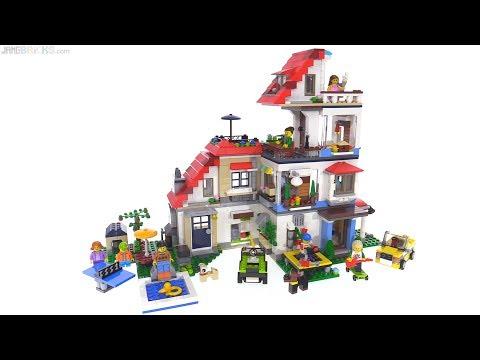 LEGO Creator Modular house Super-Build 🏘️ 31067 + 31068 + 31069 combination