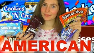 trying american candy
