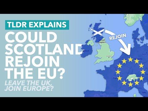 Can Scotland Leave Britain & Rejoin the European Union? - TLDR News