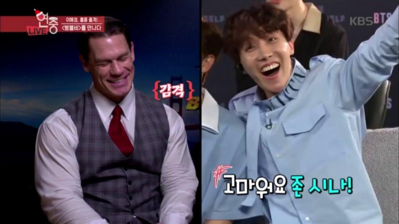 연예가중계 Entertainment Weekly - '범블비'를 만나다! (ft. 아미 존시나의 나는 군대다?).20181221