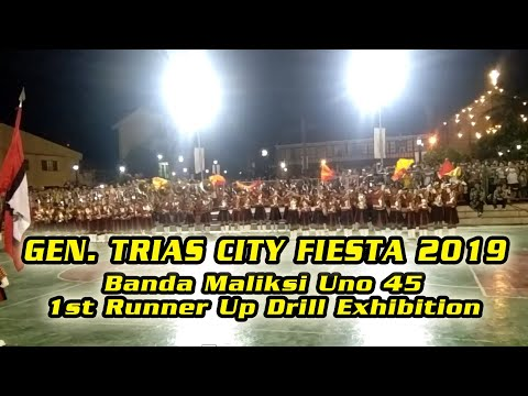 BANDA MALIKSI UNO BACOOR CAVITE   1ST RUNNER UP DRILL EXHIBITION   GENERAL TRIAS CITY FIESTA 2019 from YouTube · Duration:  6 minutes 23 seconds
