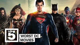 The worst DC movies ranked (CNET Top 5)