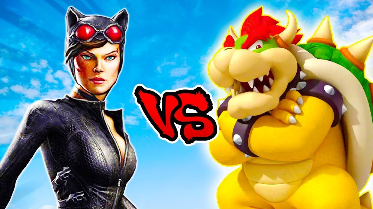 Catwoman Vs Bowser - Epic Battle - Left 4 dead 2 Gameplay (Left 4 dead 2  Custom Skin Mod)
