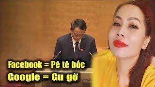 Bà ngoại Trang Lê dạy cho ĐCS Việt Nam 1 bài học khi đòi đóng Facebook và Google ở VN