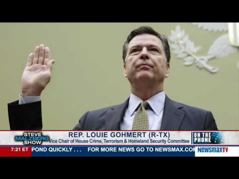 Malzberg | Rep. Louie Gohmert discusses his ripping FBI Director Comey over Hillary Emails
