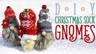 DIY CHRISTMAS SOCK GNOMES - Christmas Decorations