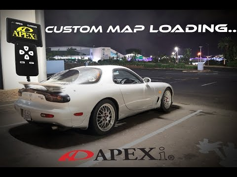How To Load A Custom MAP On APEXI POWER FC