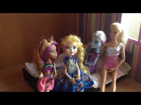 Cерия 4/Ever After High Stop motion/ Первая ночь в новом доме, 1 часть