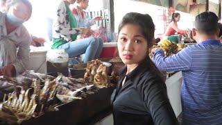 Holiday Trip in Cambodia to Kien Svay Resort | Amazing Street Food