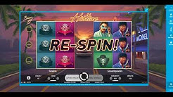Gameplay NetEnt Hotline Slot mit Freespins !