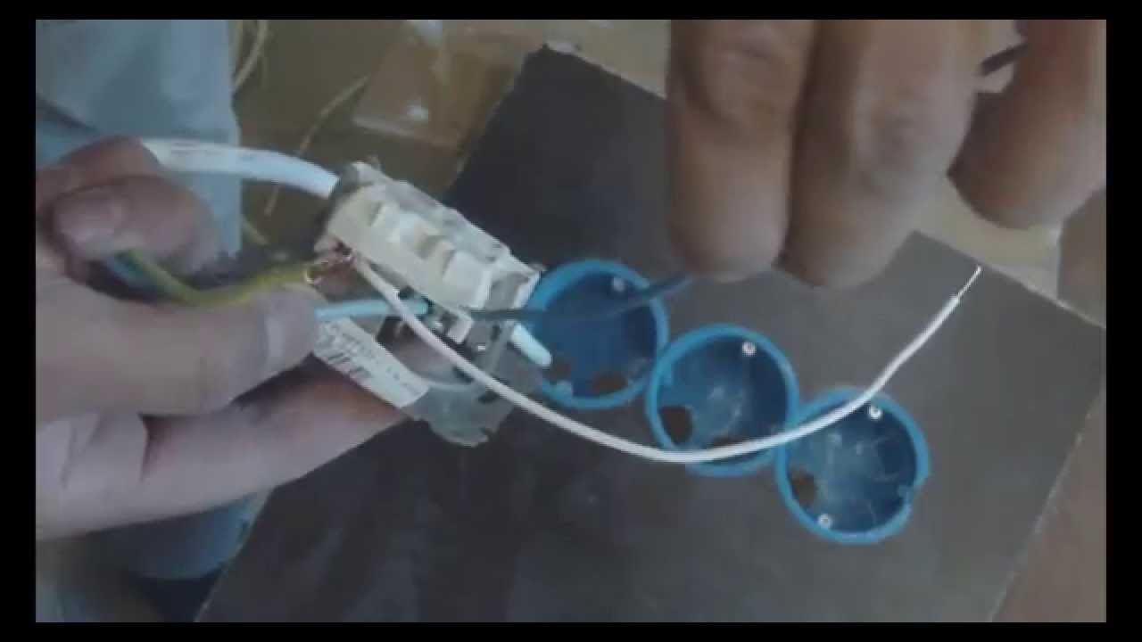 из розетки торчит четыре провода схема подключения