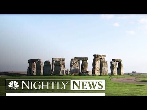 Archaeologists Discover Ritual Monument Near Stonehenge | NBC Nightly News