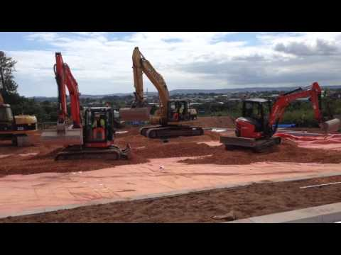 Celtic Construction at work at Exeter Science Park
