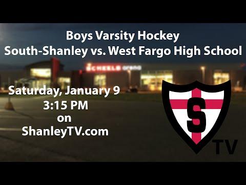 Boys Varsity Hockey: South-Shanley vs. West Fargo High School