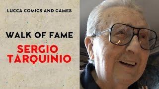 [Lucca Comics & Games] Walk of Fame: Sergio Tarquinio