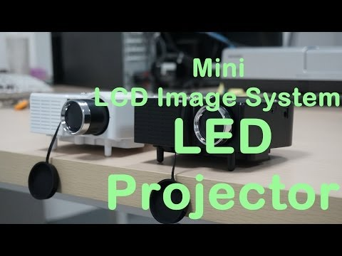 Mini LCD Image System LED Projector, tinydeal