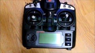 Первісна настройка апаратури FlySky TH9X (Turnigy 9X)