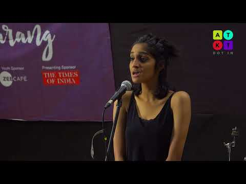 Soulful Cover of 'My Funny Valentine' by Student from Stella Maris College | Saarang 2018