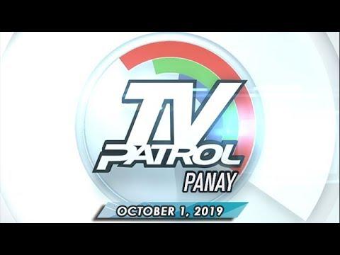 TV Patrol Panay - October 1, 2019