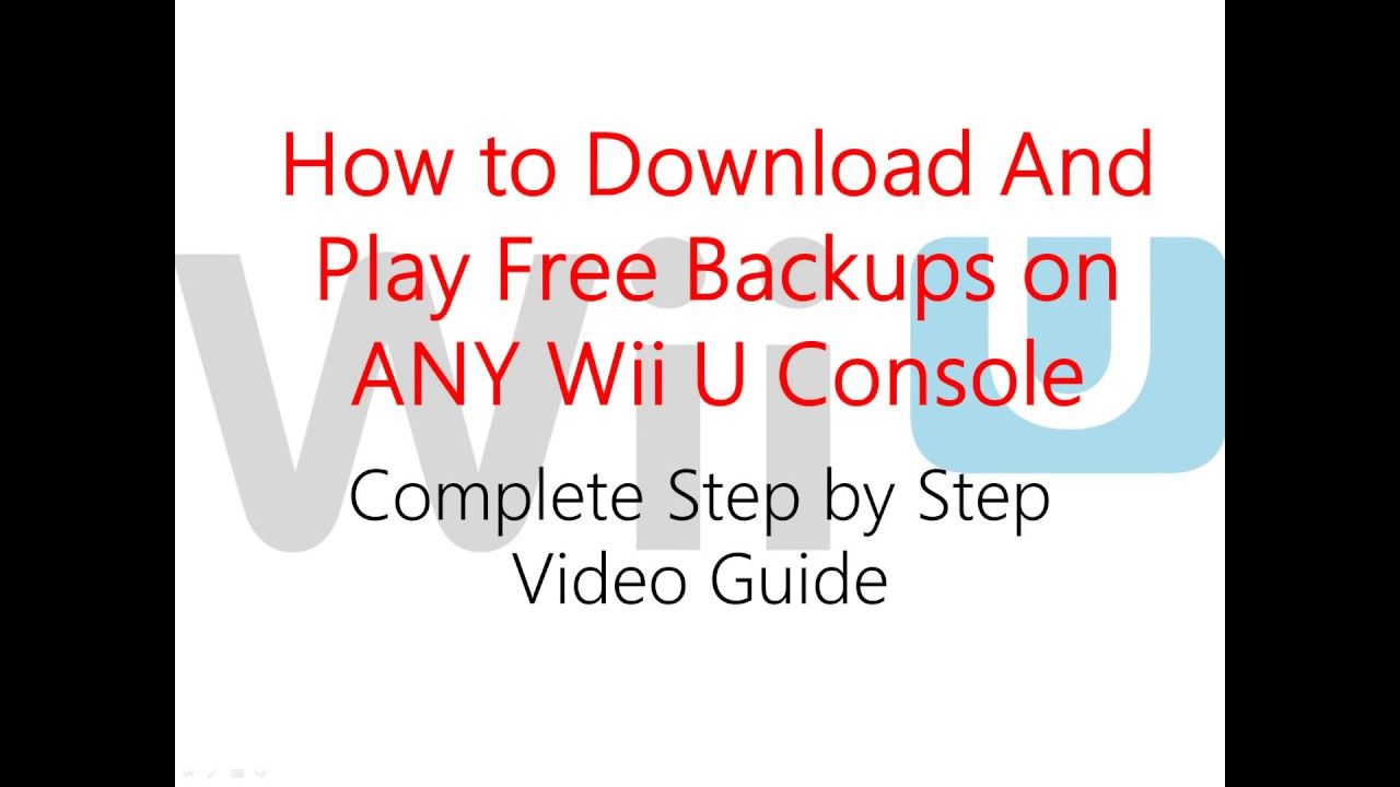 How To Play Free Games On Wii U | Legacy Time