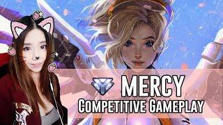 Overwatch | Mercy Gameplay on  Ilios | Competitive Overwatch Livestream