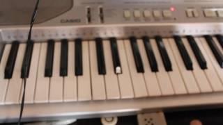 видео урок.Как играть five night at Freddy на пианино(сентезаторе))