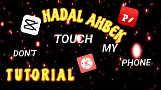 HOW TO OVERLAY DON'T TOUCH MY PHONE LIVE WALLPAPER - HADAL AHBEK TUTORIAL   Moshi Villacido screenshot 1