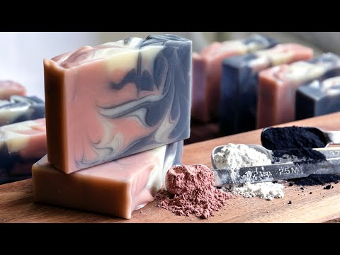 Charcoal & Clay Cold Process Soap