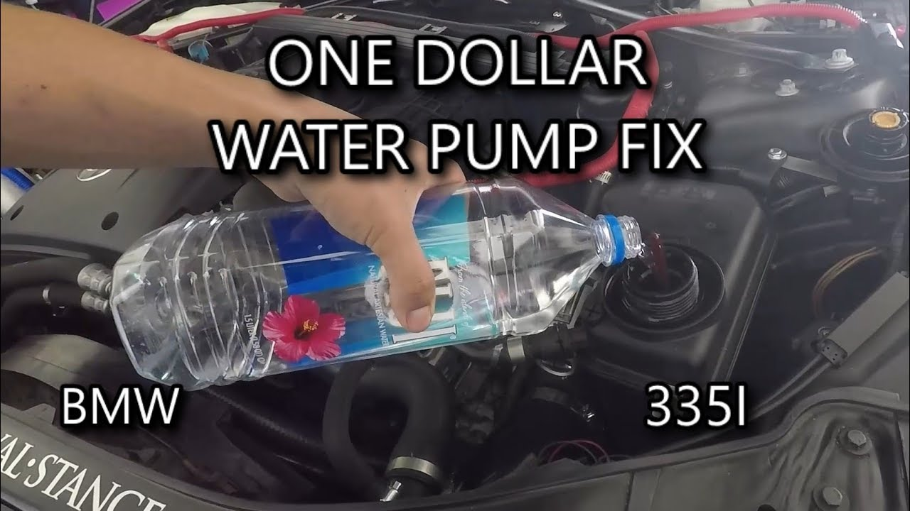 This Can Save You Hundreds Of Dollars E92 Water Pump Fix Youtube