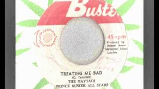 the maytals - treating me bad - prince buster records