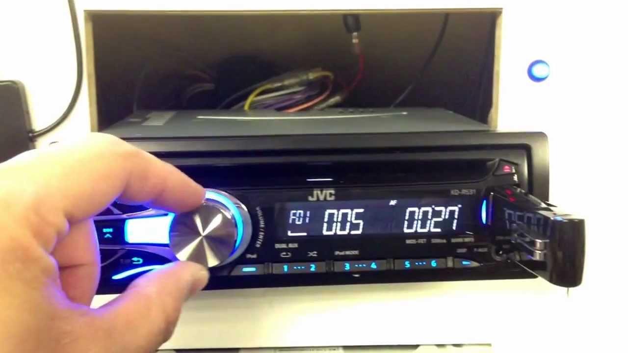 Jvc Kd R531 Usb Stereo