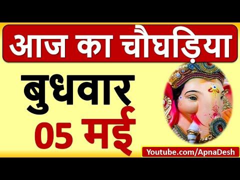 Aaj ka Choghadiya, Aaj na Choghadiya, Choghadiya Muhurat 05 May 2021