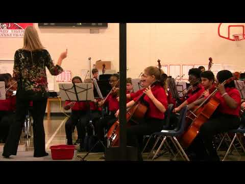 McConnell Middle School: Winter Orchestra: Fumble Fingers