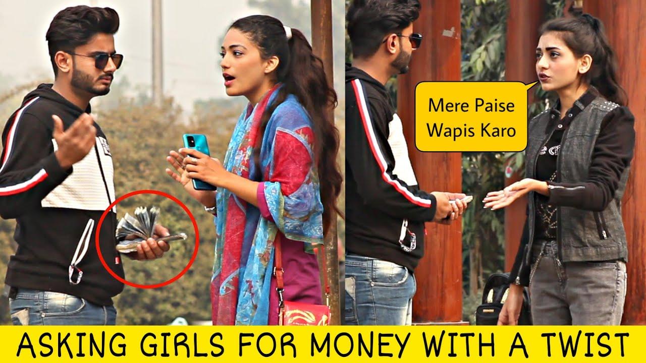Asking Cute Girls 500 ka Change hai Prank @That Was Crazy