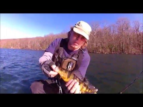 Little Fish At White Pond: New York Freshwater Kayak Fishing