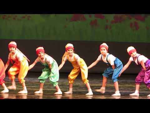 Отчетный концерт. Вихрь. Танец  Гномы. Азбука танца. Культурно-развлекательный центр профсоюзов.