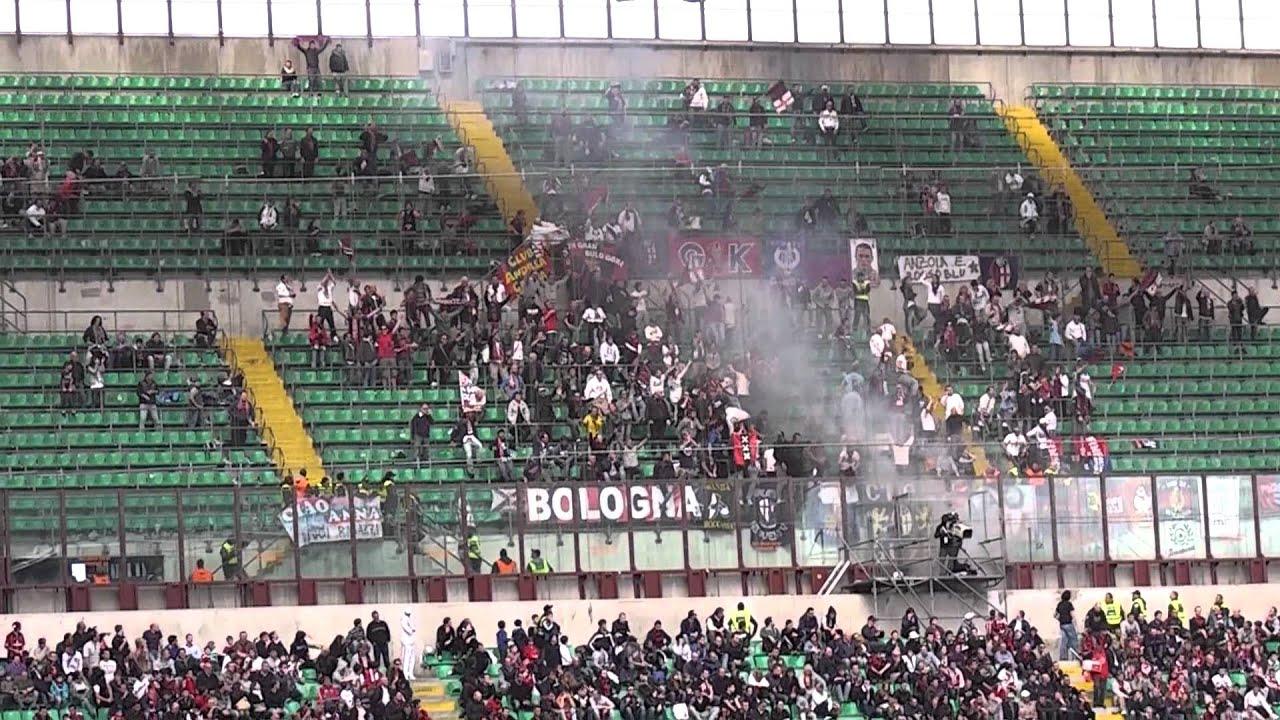 Milan Bologna 1-1 Curva Sud Milano ''BOLOGNA GOAL 0-1'' IN ...