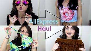 Huge AliExpress Haul & Try-On! (part 1)