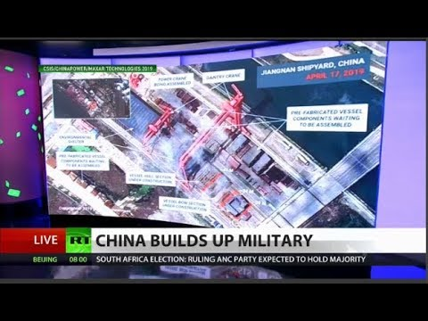 Satellite image: China building ultimate aircraft carrier