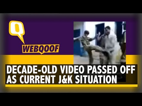 10-Yr-Old Video From Pak Shared as Indian Army's Brutality in Jammu and Kashmir   The Quint
