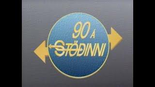 Spaugstofan 1990 - 90 Á Stöðinni - S02E05 af 14