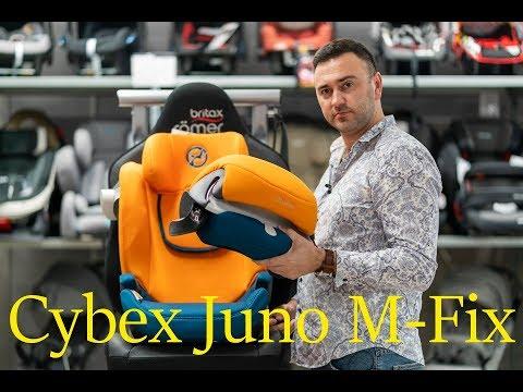 Подробный обзор Cybex Juno M-Fix – автокресло от 9 месяцев до 4 лет